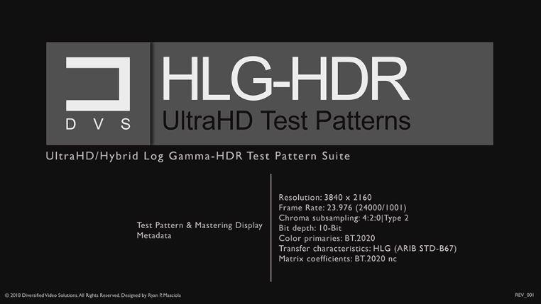 Hdr Test Patterns